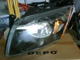 tech modern performance s blog page  dodge caliber srt 4 depo headlight