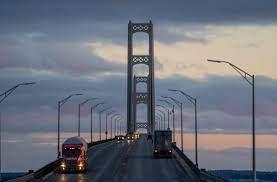 Mackinac Bridge toll booths