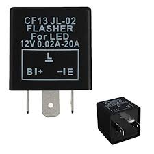 amazon com ijdmtoy (1) 3 pin cf 13 cf13 ep34 electronic flasher 300ZX Fuse Box Location at 300zx 1996 Fuse Relay Box