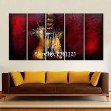Canvas Art Red Canvas Art Promotion Shop For Promotional Red Canvas Art On