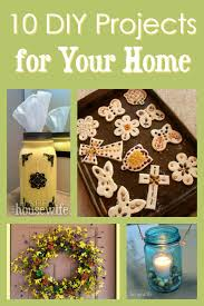 these diy projects for your home are not overly complicated and many of them will help