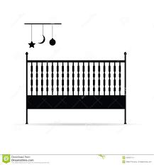 baby crib illustration royalty free stock photo  image