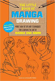 the little book of manga drawing more than 50 tips and techniques for learning the art of manga and anime book at low s in india the