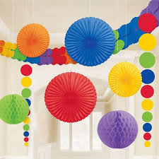 Tissue Balls Party Decorations Rainbow Tissue Paper Party Decorating Kit Pipii 26
