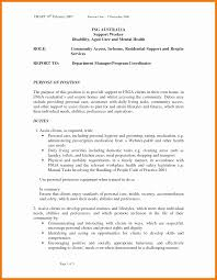 12 13 Aged Care Resume Template 2l2code Com