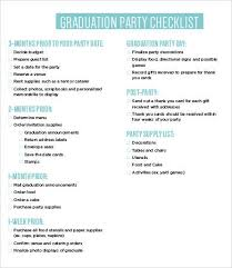Party List Template Party Checklist Templates 11 Free Word Pdf Documents Download