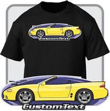 1995 mitsubishi 3000gt custom. custom art tshirt 95 1995 96 mitsubishi 3000gt sl vr4 spyder convertible 3000gt