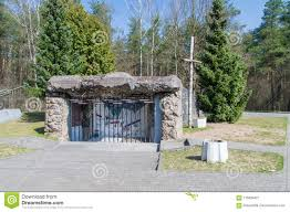 Bunker At The Commemoration Of The Battle Of Mlawa, Which Took Place During  The Second World War Editorial Photography - Image of poland, europe:  115835427