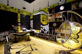 fun office decorating ideas. Fun Office Decorating Ideas With Home That Is All About Bicycles And Loads Of