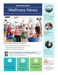 Wellness Newsletter Templates Wellness Newsletter Ideas Khaligh Info