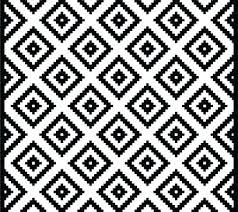 black white geometric rug and outdoor summit area runner