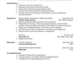 Sample Millwright Resume Actuarial Assistant Cover Letter Marine