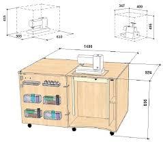 Sewing Machine Height