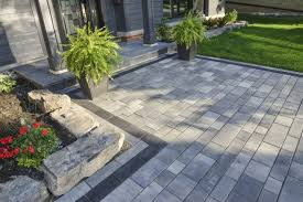 modern patio pavers. Beautiful Modern Merging The Soft Shapes And Textures Of Potted Plants With Distinct  Pavers Also Creates A Pleasing Contrast And Modern Patio Pavers I