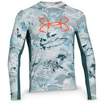 under armour shirts. under armour men\u0027s coolswitch thermocline long sleeve t-shirt, ridge reaper camo shirts s