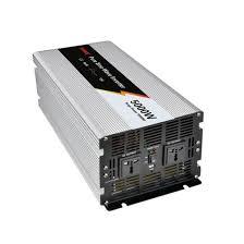 5000 Watt <b>Pure Sine Wave</b> Power Inverter, 24V DC to 220V AC ...