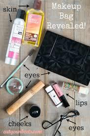 make up bag revealed