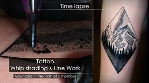 Tattoo Techniques Line Work Whip Shading Close Up Process Time Lapse Full Hd