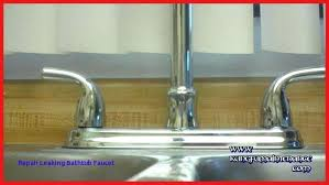 stop a leaky bathtub single faucet how