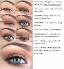 victoria s secret inspired eye makeup tutorial