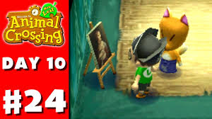 animal crossing new leaf part 24 real art nintendo 3ds gameplay walkthrough day 10 you