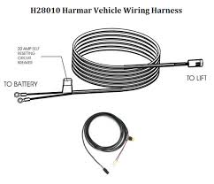 harmar lift wiring harness harmar image wiring diagram vehicle wiring harness h28010 scooterdirect com on harmar lift wiring harness