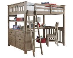 Wilbur Loft Bed with Desk