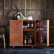Wine Carts Cabinets Latest Home Trend Raises The Bar To Pour You A Cocktail San