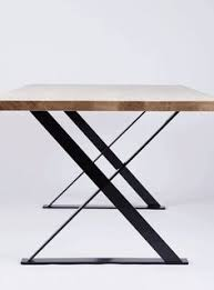 contemporary metal furniture legs. American Oak Or Elm Dining Table W/ Steel Legs Pond-Pond Shop (Au Contemporary Metal Furniture V