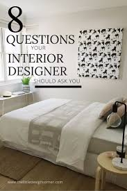 What Questions Will an Interior Designer Ask Me? + Buyer's