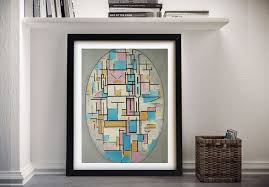 composition in oval with color planes i piet mondrian wall art on color planes wall art with composition in oval with color planes i piet mondrian wall art