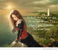 Beautiful Lonely Quotes Best of I Am Lonely Beautiful Quote With Image