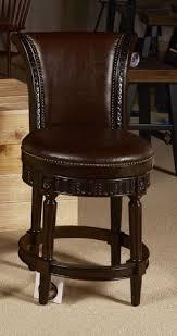 Buy Ashley Furniture North Shore Dark Brown Upholstered Swivel