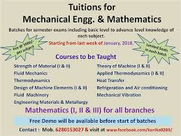 Tuition for Mechanical Engineering in Chandigarh - Home | Facebook