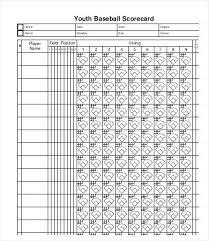T Ball Score Sheet Template Caseyroberts Co