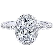 gabriel amavida bardot oval double halo diamond engagement ring