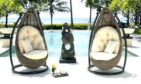 outdoor wicker swing chair outdoor basket swing chair