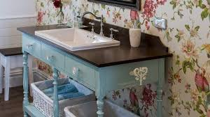 cabinet to a cool bathroom vanity