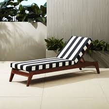 outdoor white furniture. modren white filaki lounger with black and white stripe cushion intended outdoor white furniture