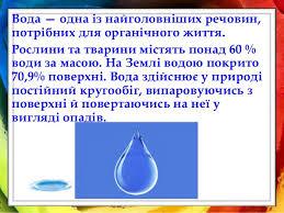 Міні проект Краплина або де ми втрачаємо воду  5 У природі вода