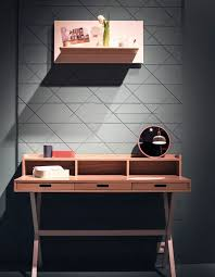 office desk for small space. Unique For Slim Desk With Smart Drawers For The Home Office Ideas Throughout For Small Space