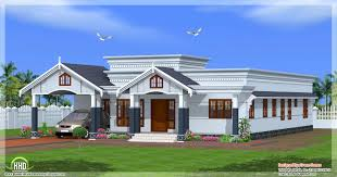 Small Picture single floor 4 bedroom house plans kerala design ideas 2017 2018