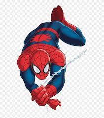spiderman hd clip art png ultimate spider man cartoon web