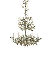 petite oak tree chandelier