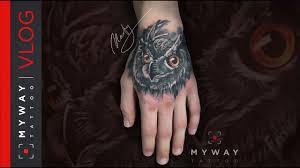 реализм тату сова история одной татуировки