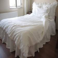 real washed pure linen duvet cover king size natural french linen bedding children bed linen fundas