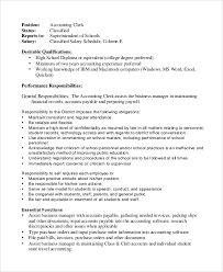 Accounting Clerk Job Description. Ideas Of Cover Letter For ...