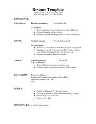 Simple Resume Examples 6928 Ifest Info