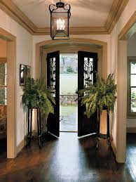 entryway lighting ideas. foyer with double front doors and hanging light fixture entryway lighting ideas