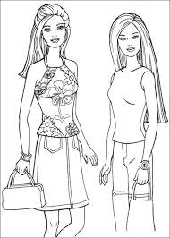 2014 Beautiful Barbie Fashion Coloring Pages 126 Jpg